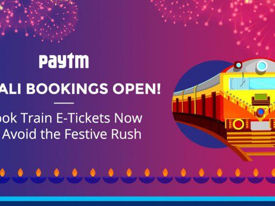 Train e-ticket bookings open for Diwali