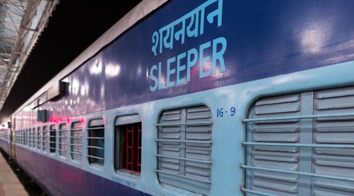 Train sleeper class