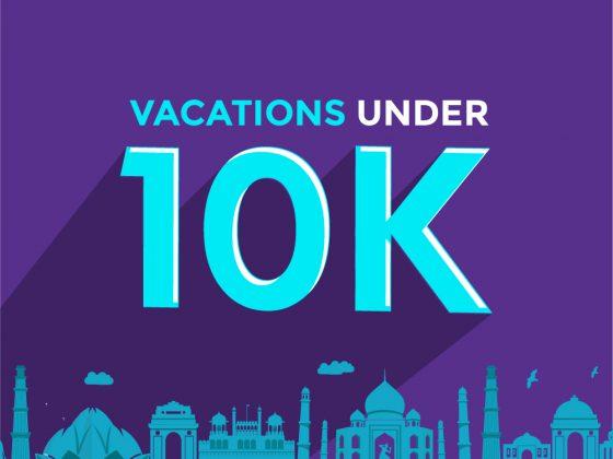 Holidays under 10k