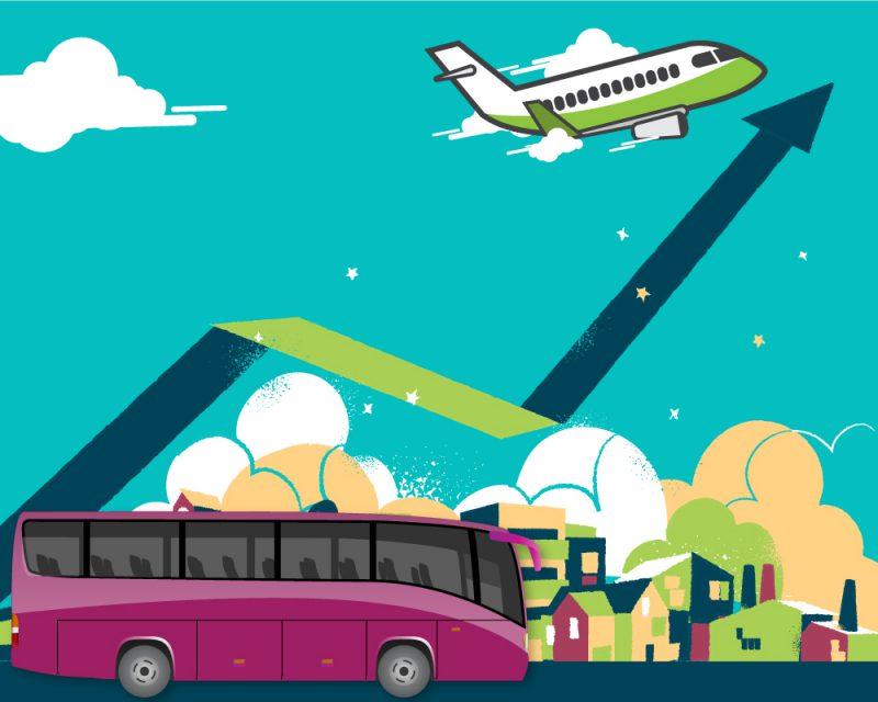 Bus getaway destinations