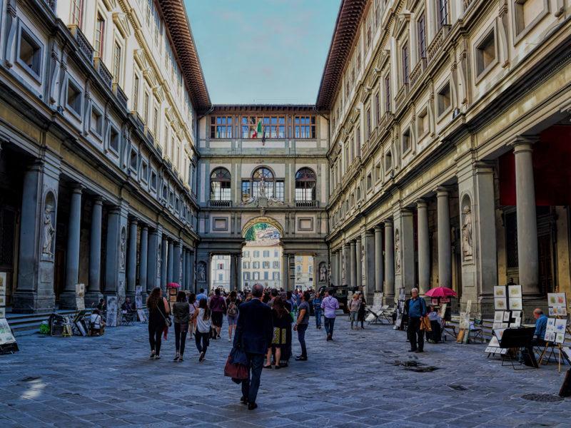 Paytm Virtual Travel - Uffizi Gallery